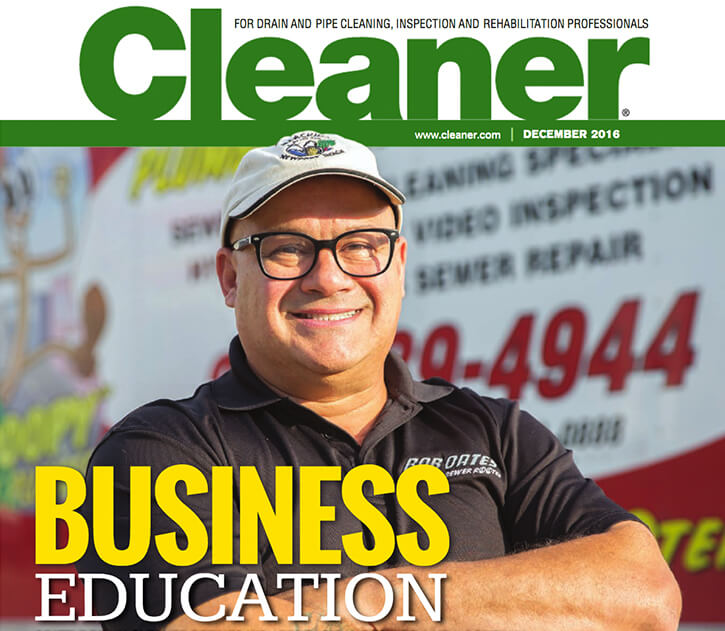 Bob Oates Cleaner Magazine