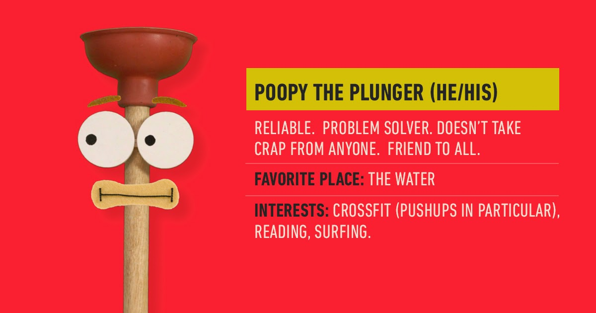 Poopy the Plunger