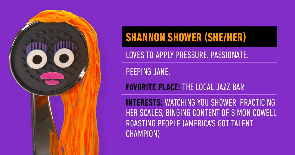 Shannon the Shower