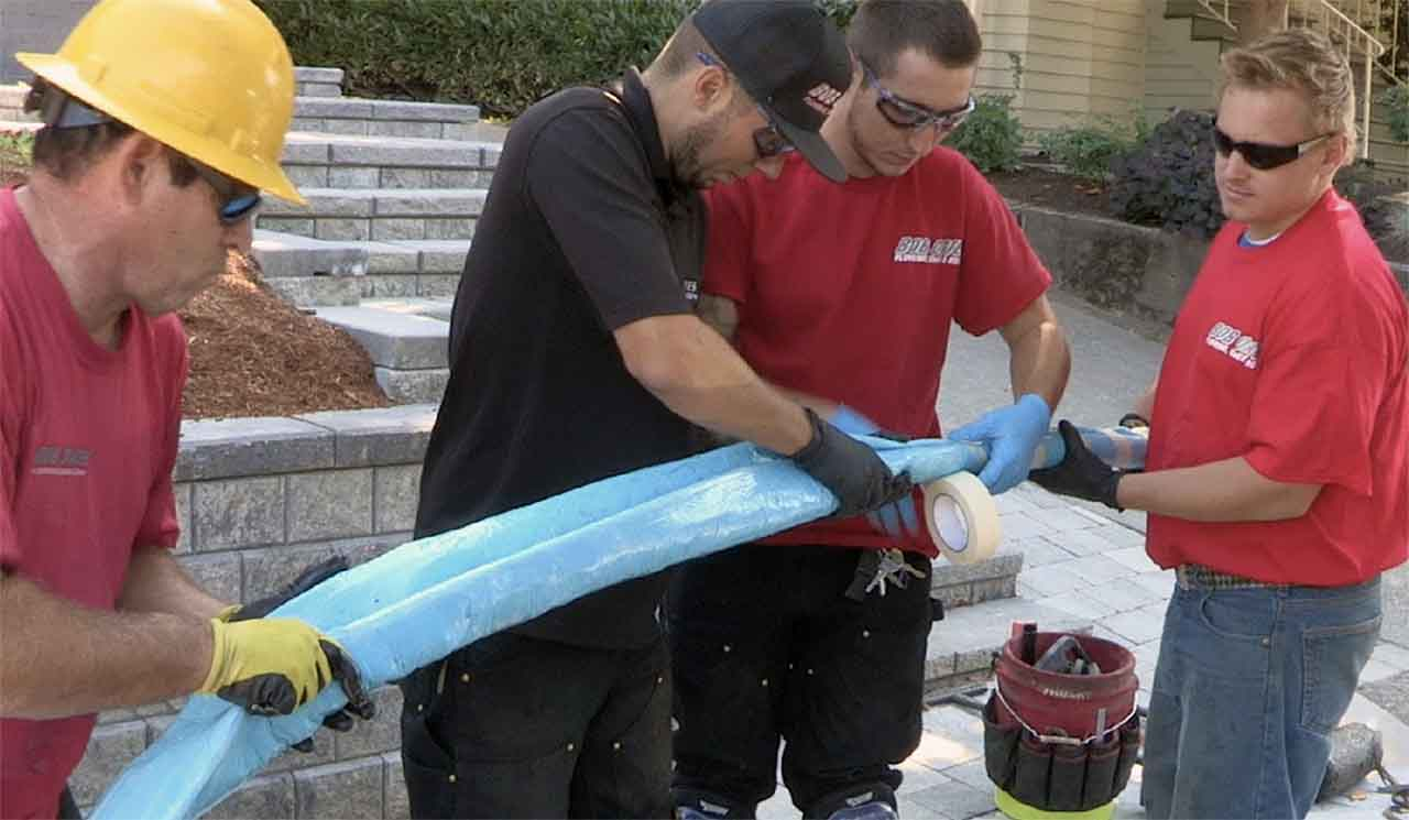 trenchless sewer repair in Bellevue, WA