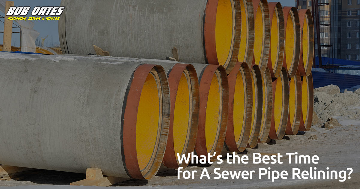 What's the Best Time for A Sewer Pipe Relining?