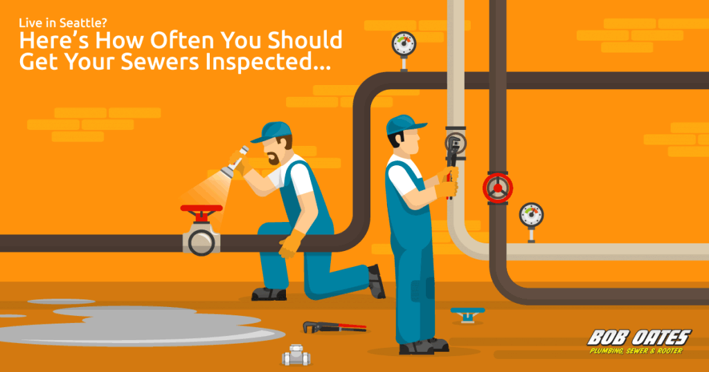 live in seattle, heres how often you should get your sewers inspected