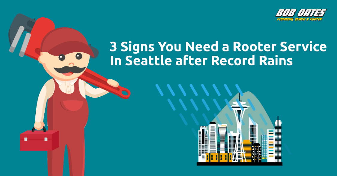 3 Signs You Need a Rooter Service In Seattle after Record Rains