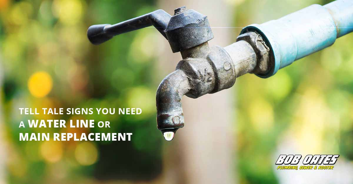 Tell Tale Signs You Need a Water Line or Water Main Replacement