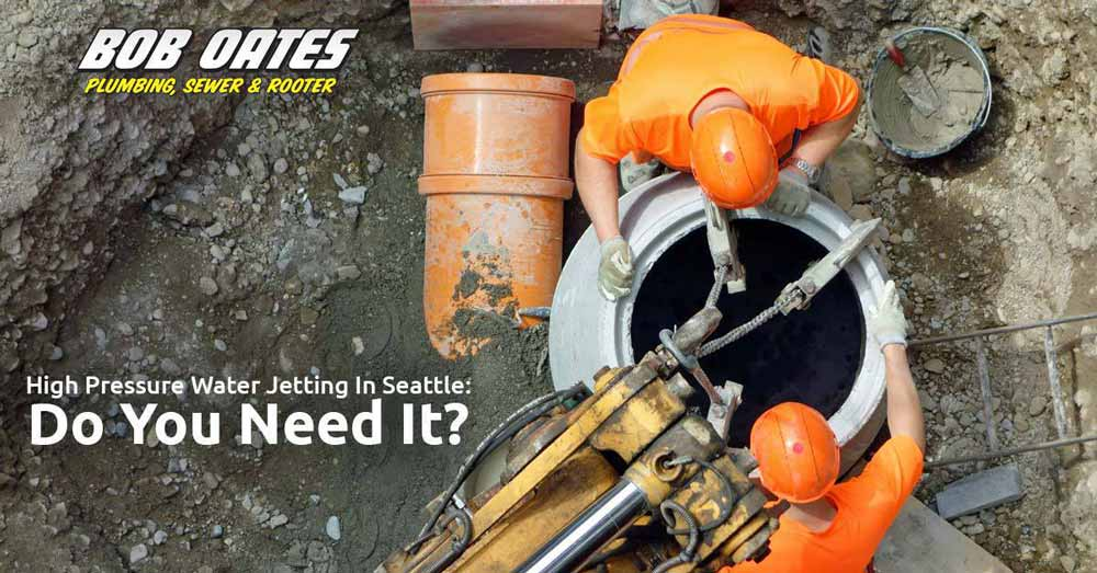 High Pressure Water Jetting in Seattle