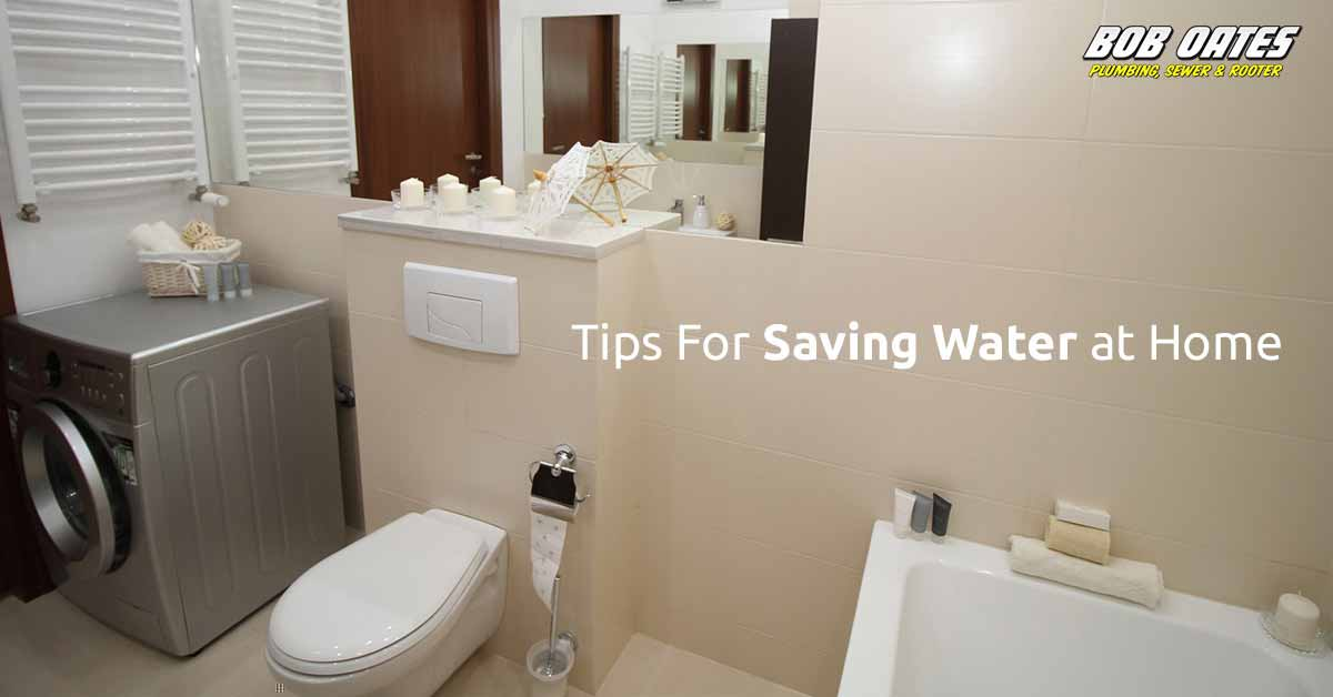 Tips for Saving Water at Home